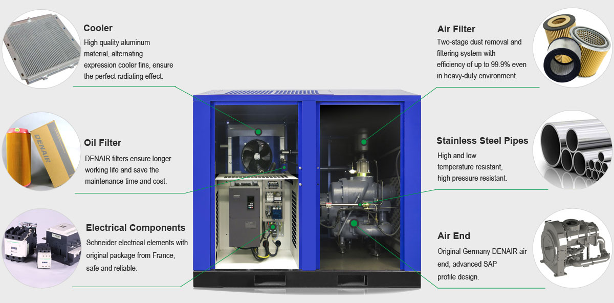 Two_Stage_Air_Compressor_Detailed_Drawing